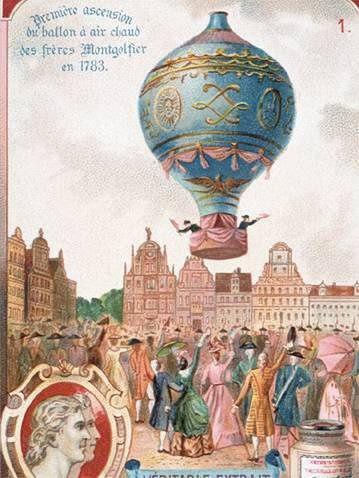 демонстрация непилотируемых воздушных шаров