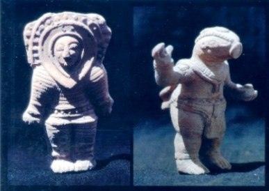 Первые путешественники в космос