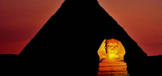 ночная пирамида