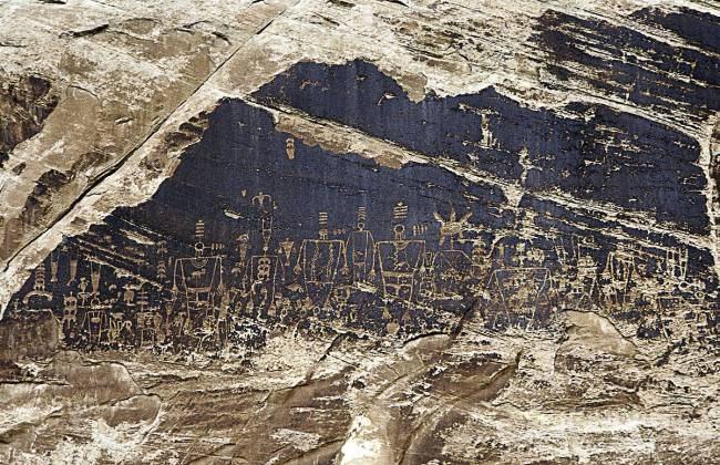 петроглифы Никарагуа.