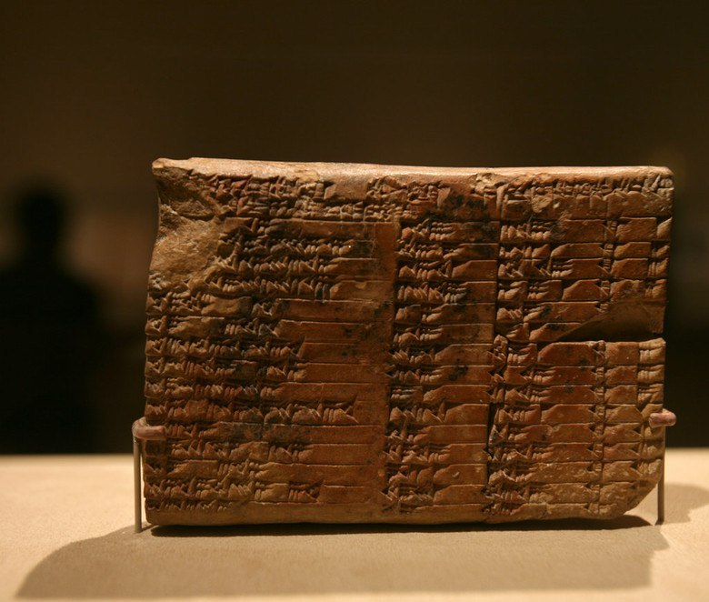 Артефакт из древнего Вавилона