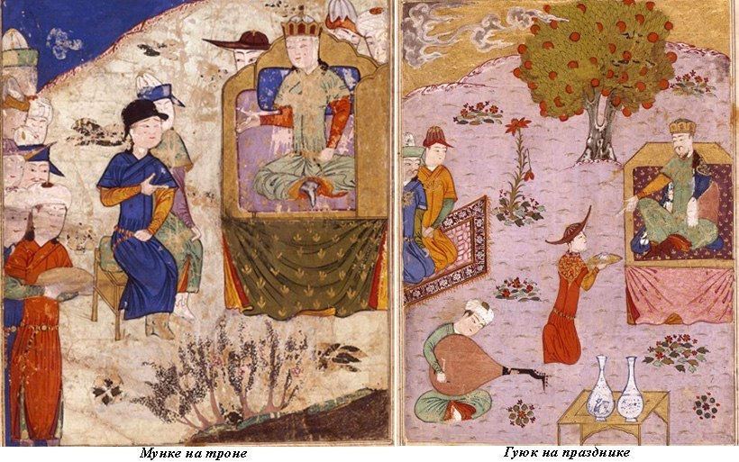картина монгольской исперии
