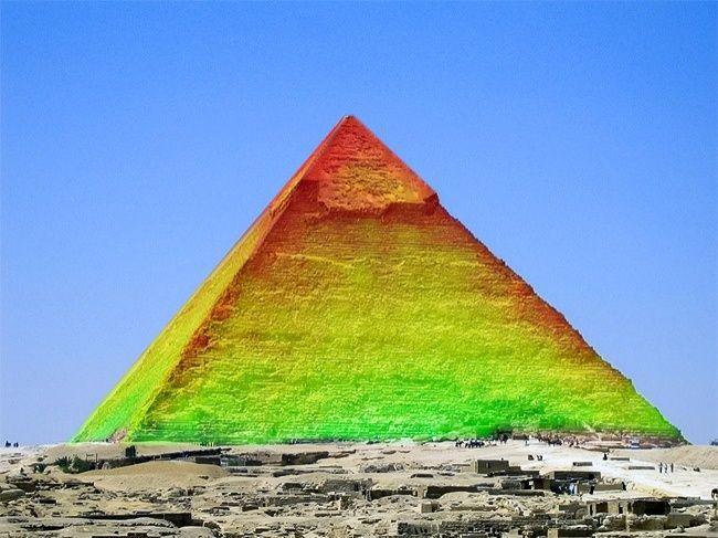 Тепловая загадка Пирамиды Хеопса