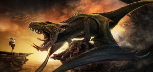Арт: динорзавр