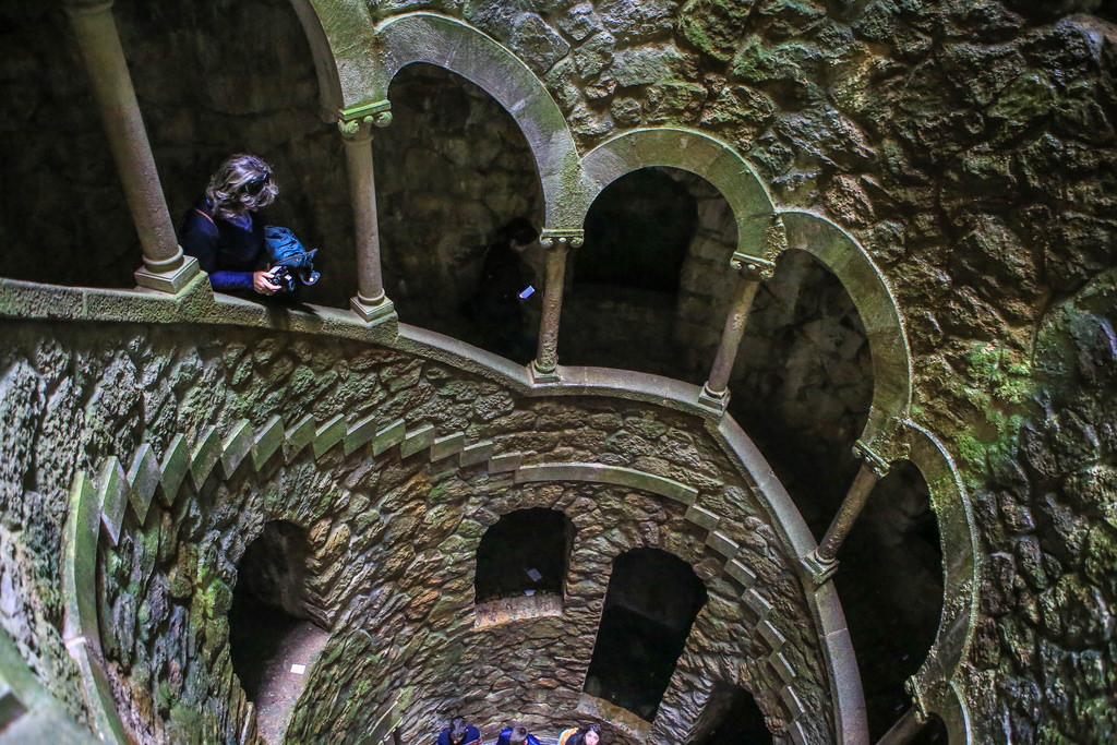 Подземная башня в Синтре — масонский колодец для ритуалов