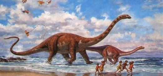 рисунок динозавтра