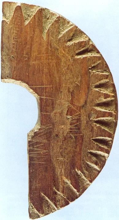 деревянный артефакт