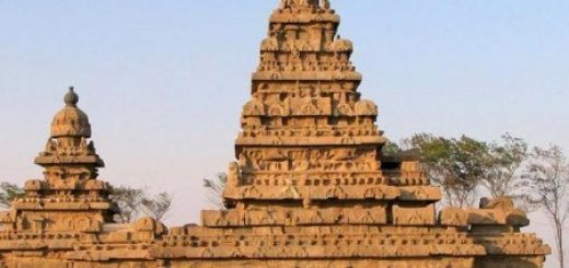 подводные храмы в Махабалипураме