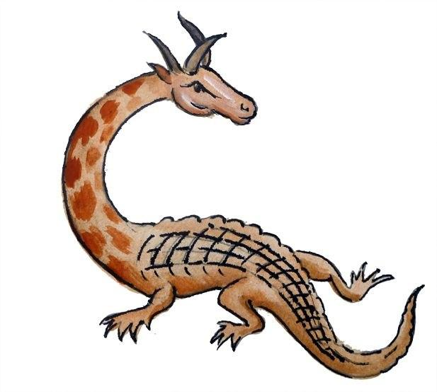 гамбийский дракон