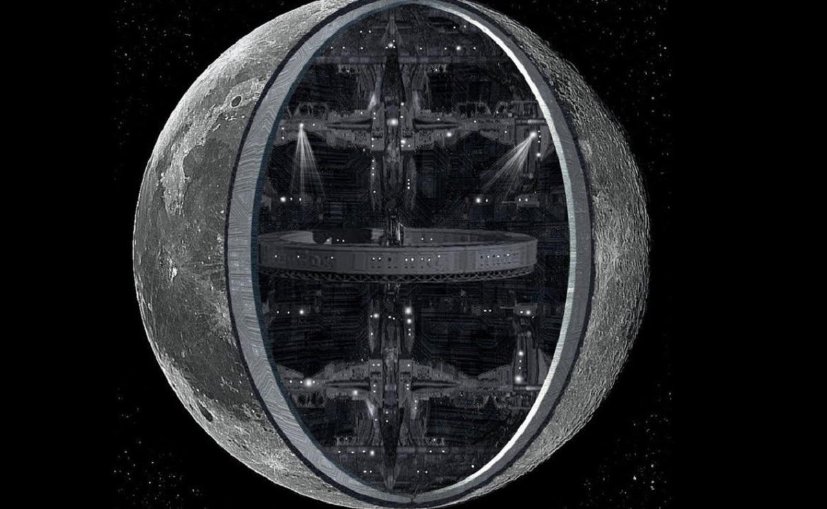 разрез Луны