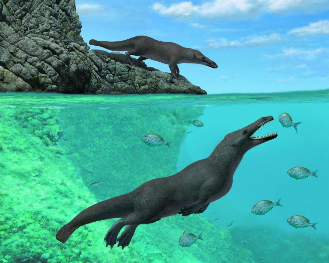 древний кит