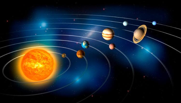 Так устроена Солнечная система