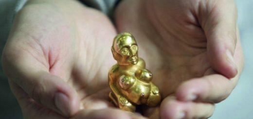 золотая статуэтка