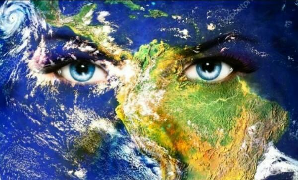 земля с глазами