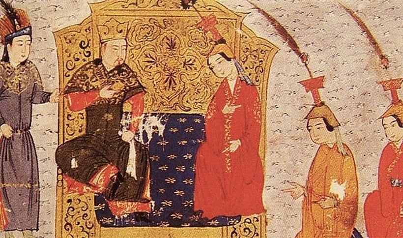 прием у Чингисхана