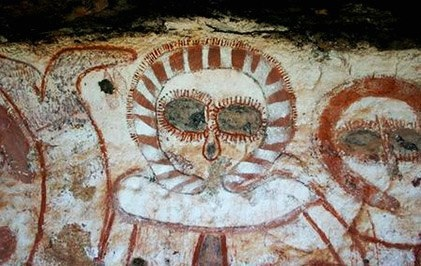 Наскальные росписи аборигенов