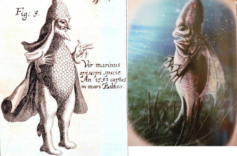 Таинственные рыбы из средневековых бестиариев