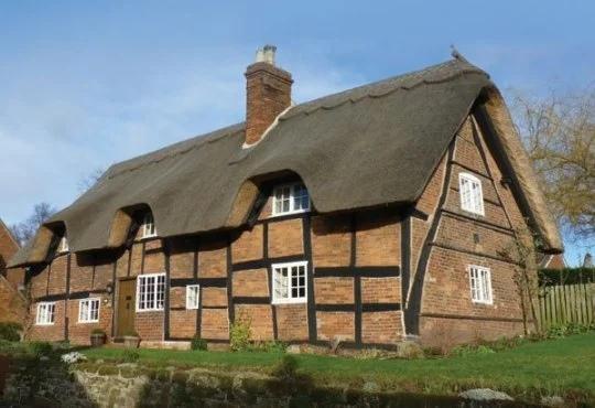 Старые британские дома