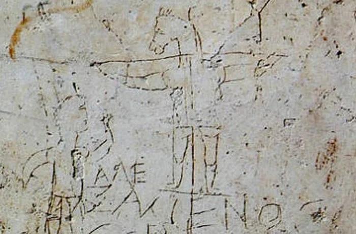 Рим, настенное граффити