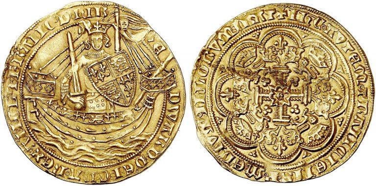 Флорин времён Эдварда III