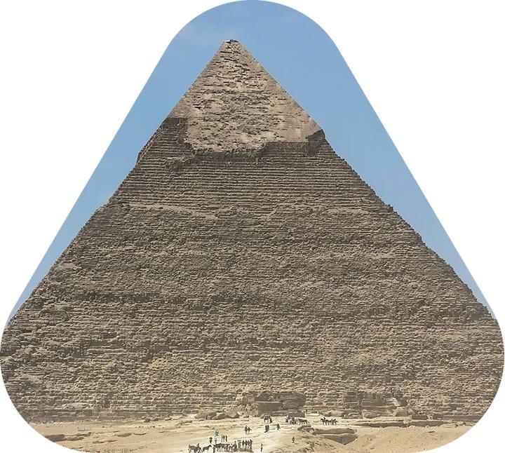 верхушка пирамиды