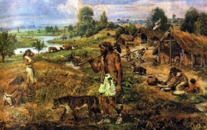 Неандертальский клей