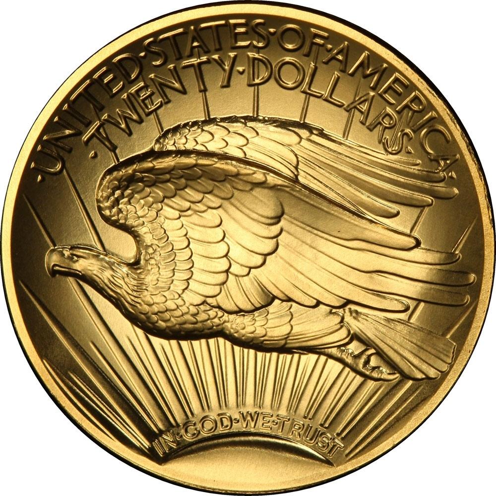 20 долларов «Двойной орёл»