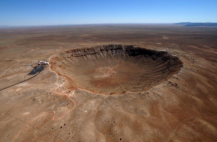 Метеоритные места