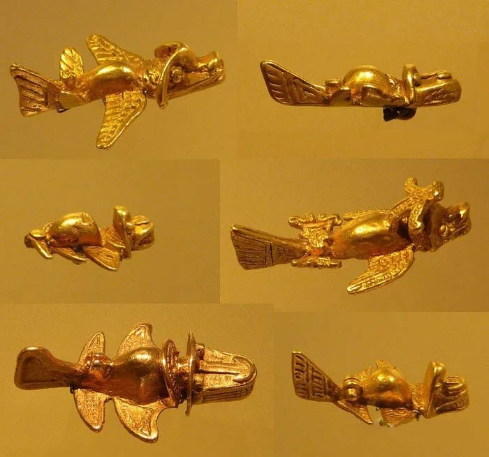 древний самолетик