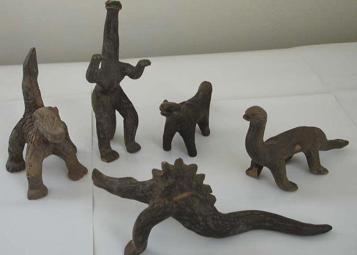 Фигурки динозавров Акамбаро
