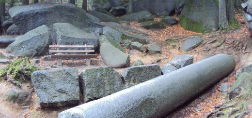 камни с механической обработкой