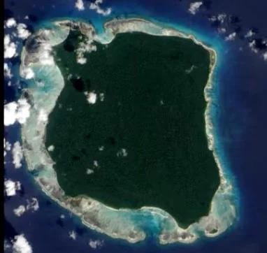 остров, где живет дикари