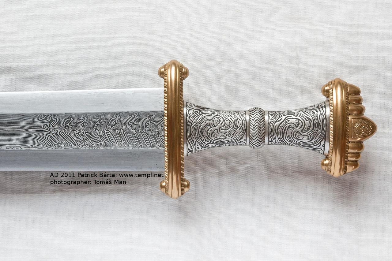 меровингский меч
