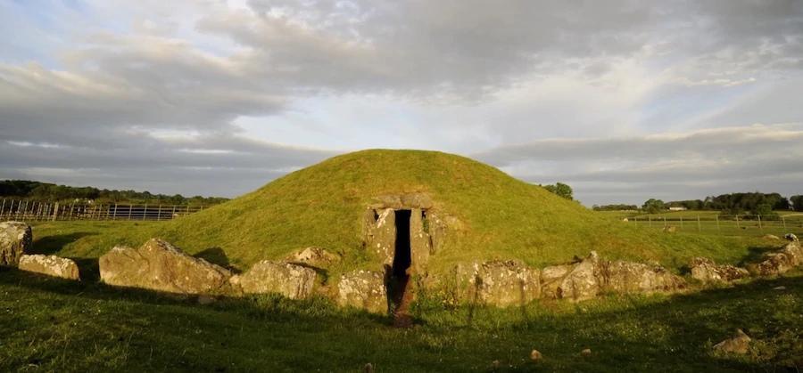 захоронение на острове друидов