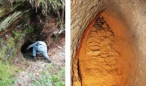древние тоннели под землей