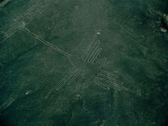 Рисунки в перуанской пустыне