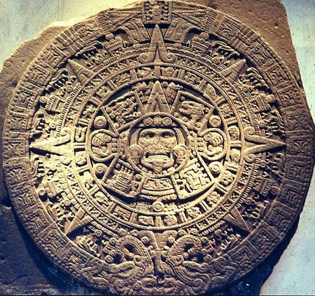 Календарь майя, основанный на цикле движения небесных тел