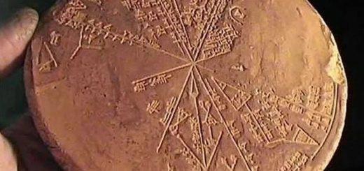шумерская карта