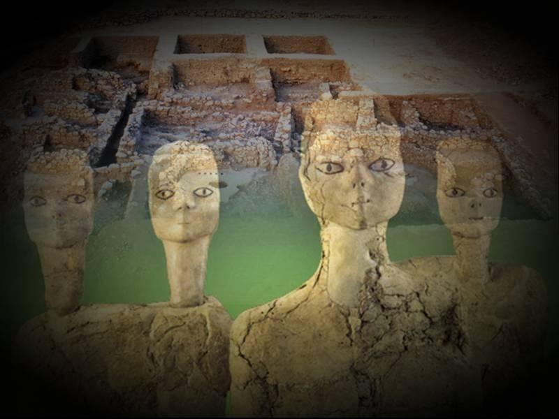 иорданские статуи