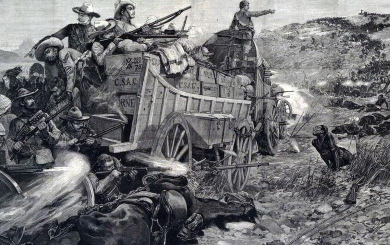 уничтожение зулусов