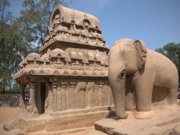 индийский город Махабалипурам