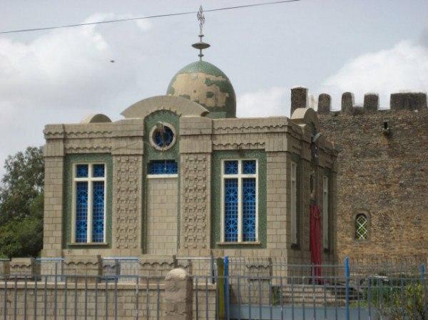 Часовня храма Марии Сионской в Эфиопии