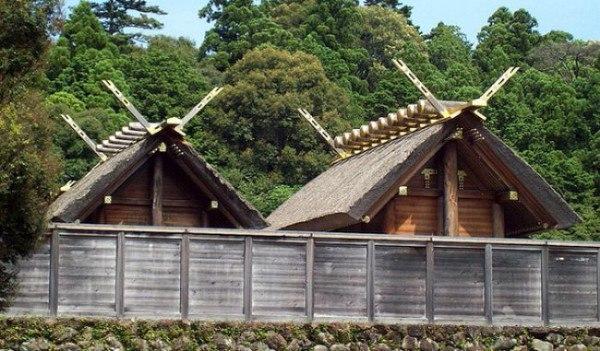 Великий храм Исэ в Японии