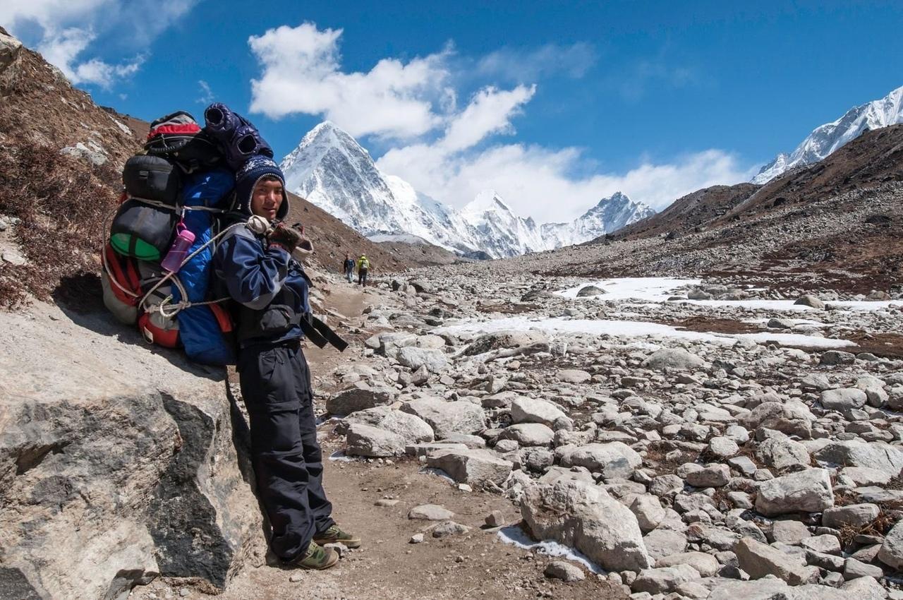 Жители Тибета и Анд