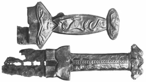 меч скифов