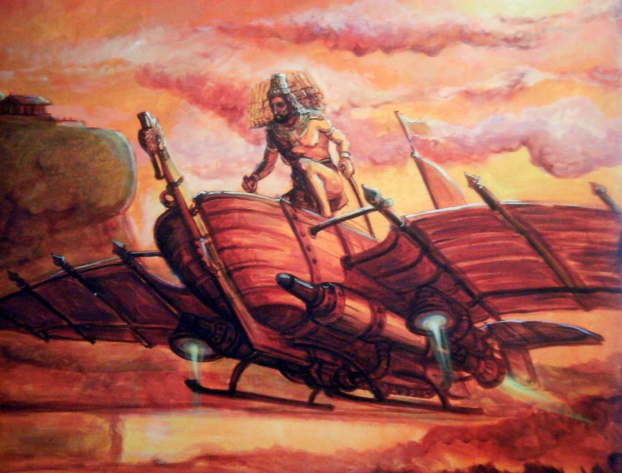 Летательные аппараты древних цивилизаций