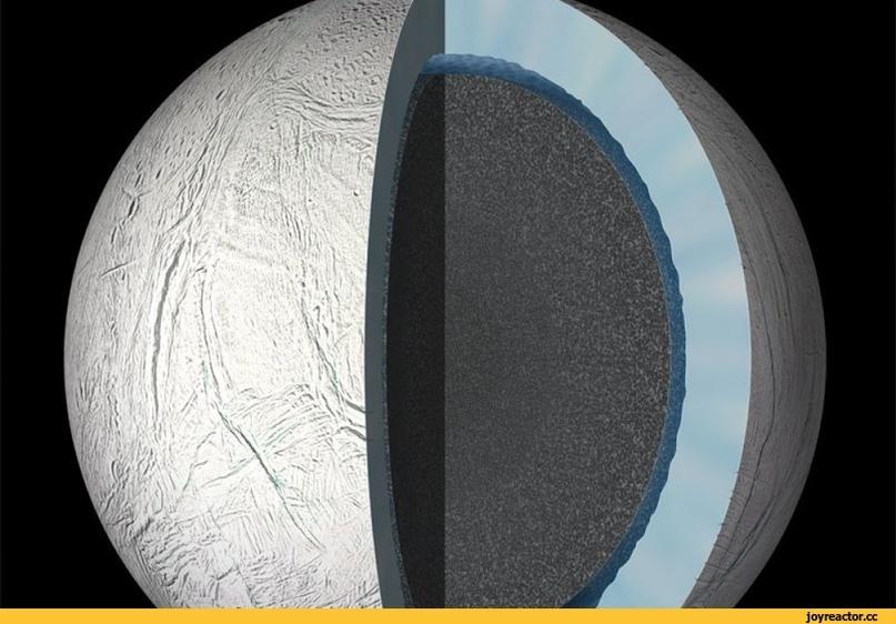 планета в разрезе
