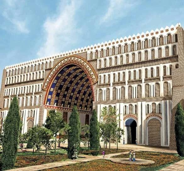 Невероятная арка в древнем Ктесифоне