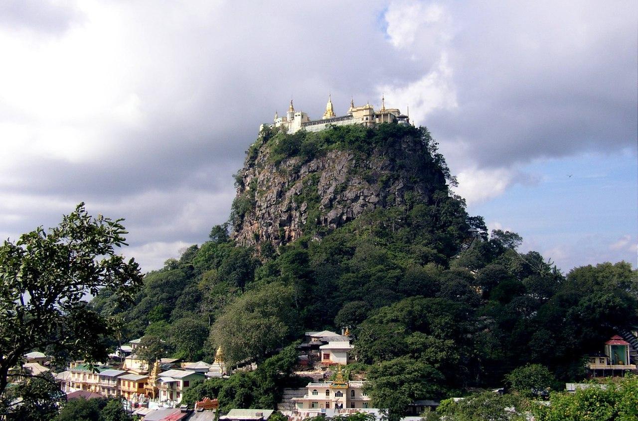Монастырь Таунг Калат