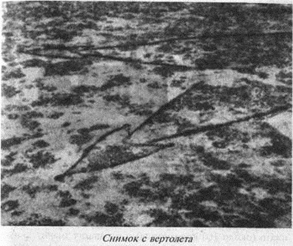 стрелы плато Устюрт. Снимок с вертолета
